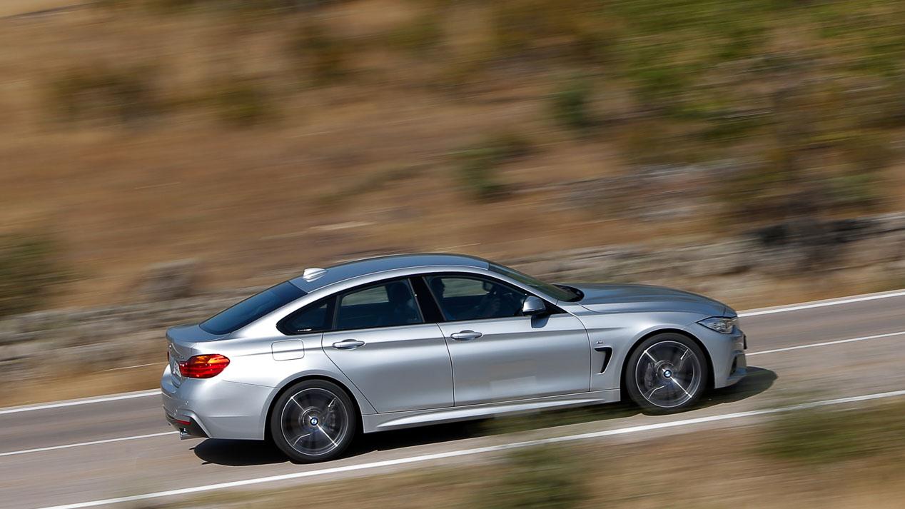 Así será el BMW Serie 4 Gran Coupé 2020 frente al modelo 2014