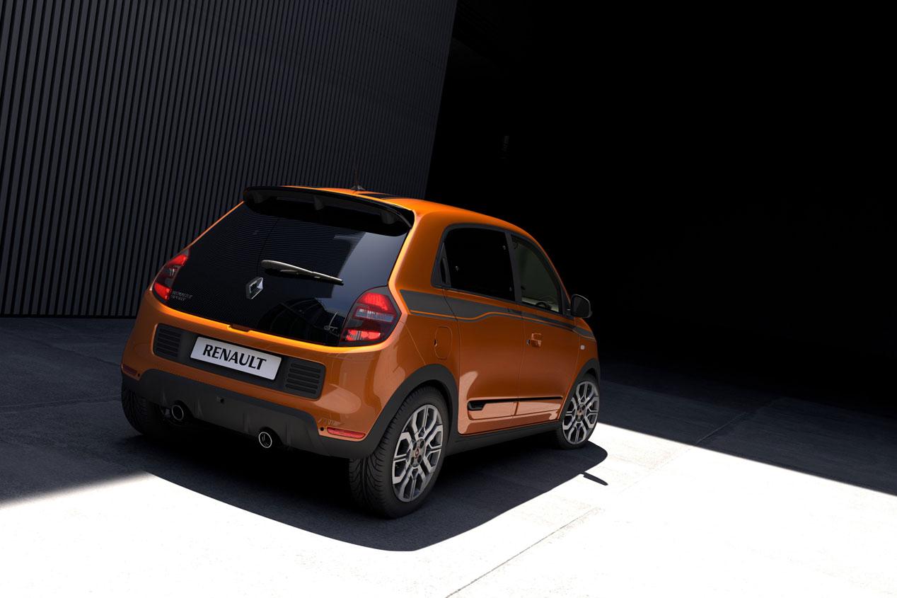 Renault Twingo GT, las imágenes del pequeño deportivo