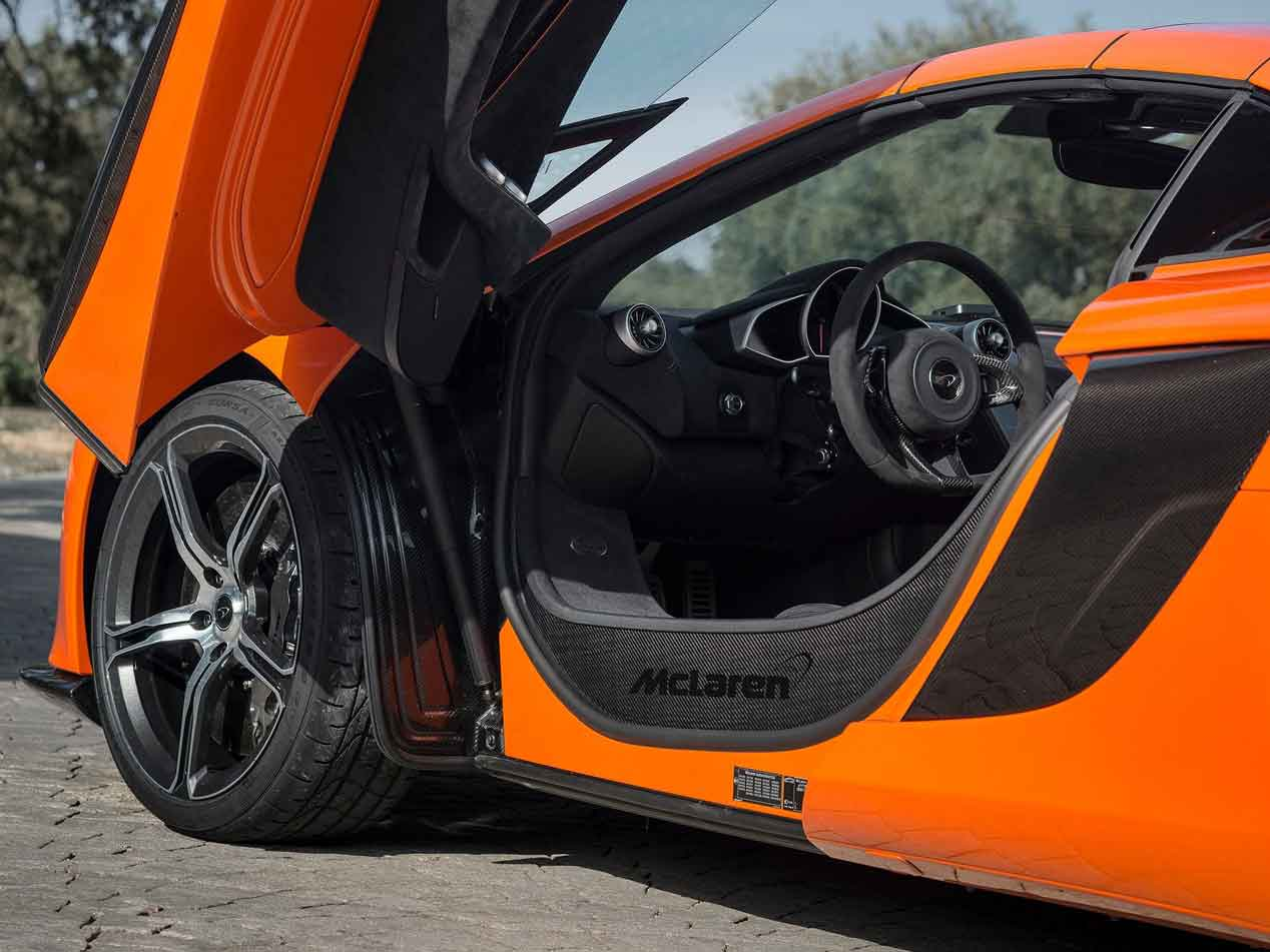 McLaren 650S Spider: rugiendo por las montañas japonesas