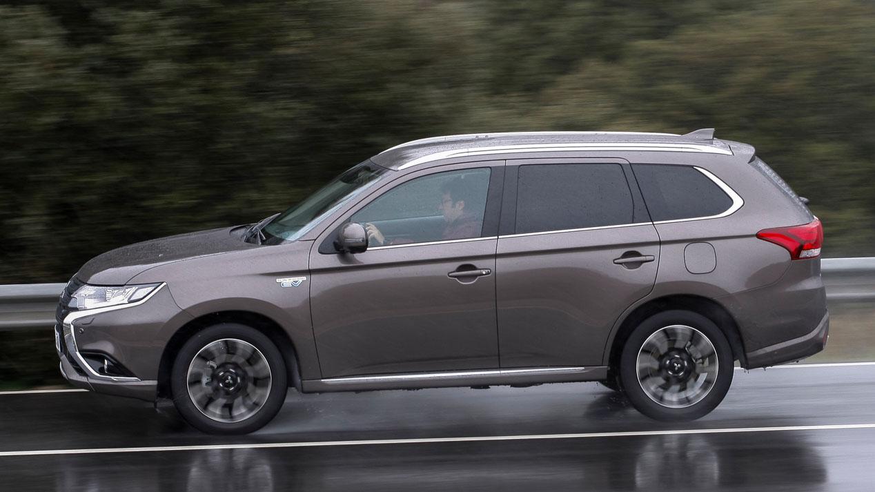 Probamos el Mitsubishi Outlander PHEV