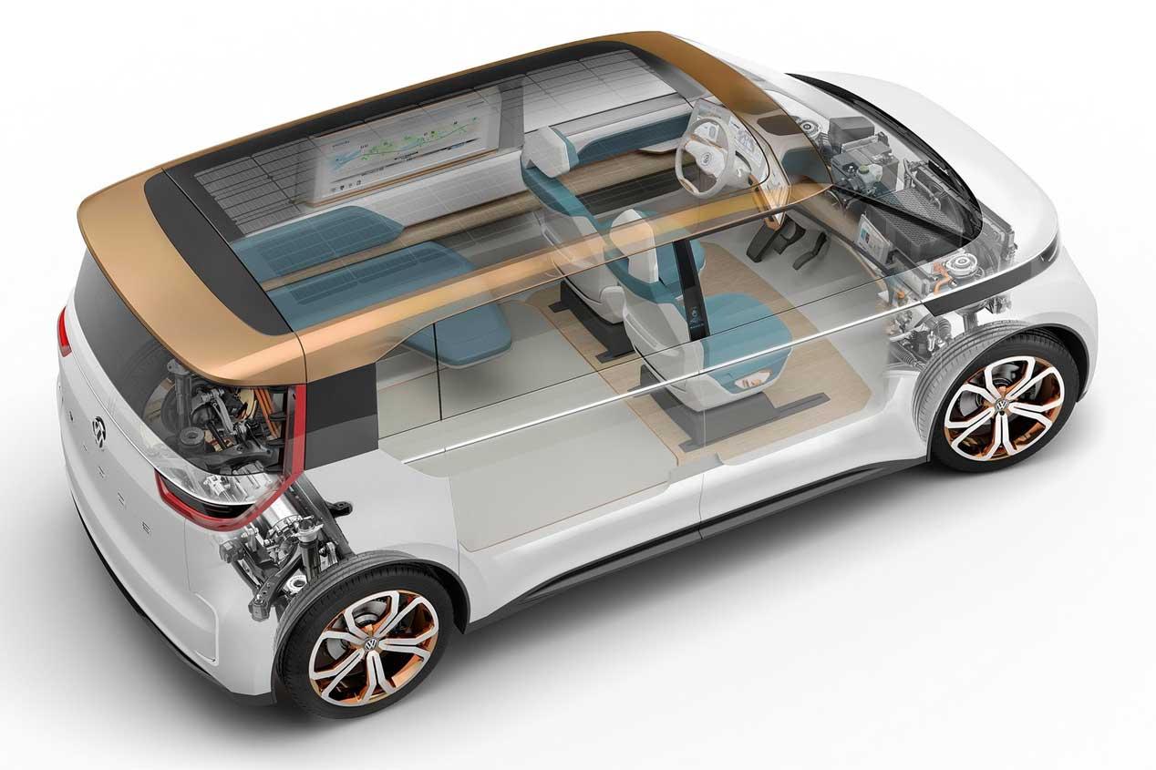 El VW Budd-e, preludio de los futuros vehículos eléctricos de VW