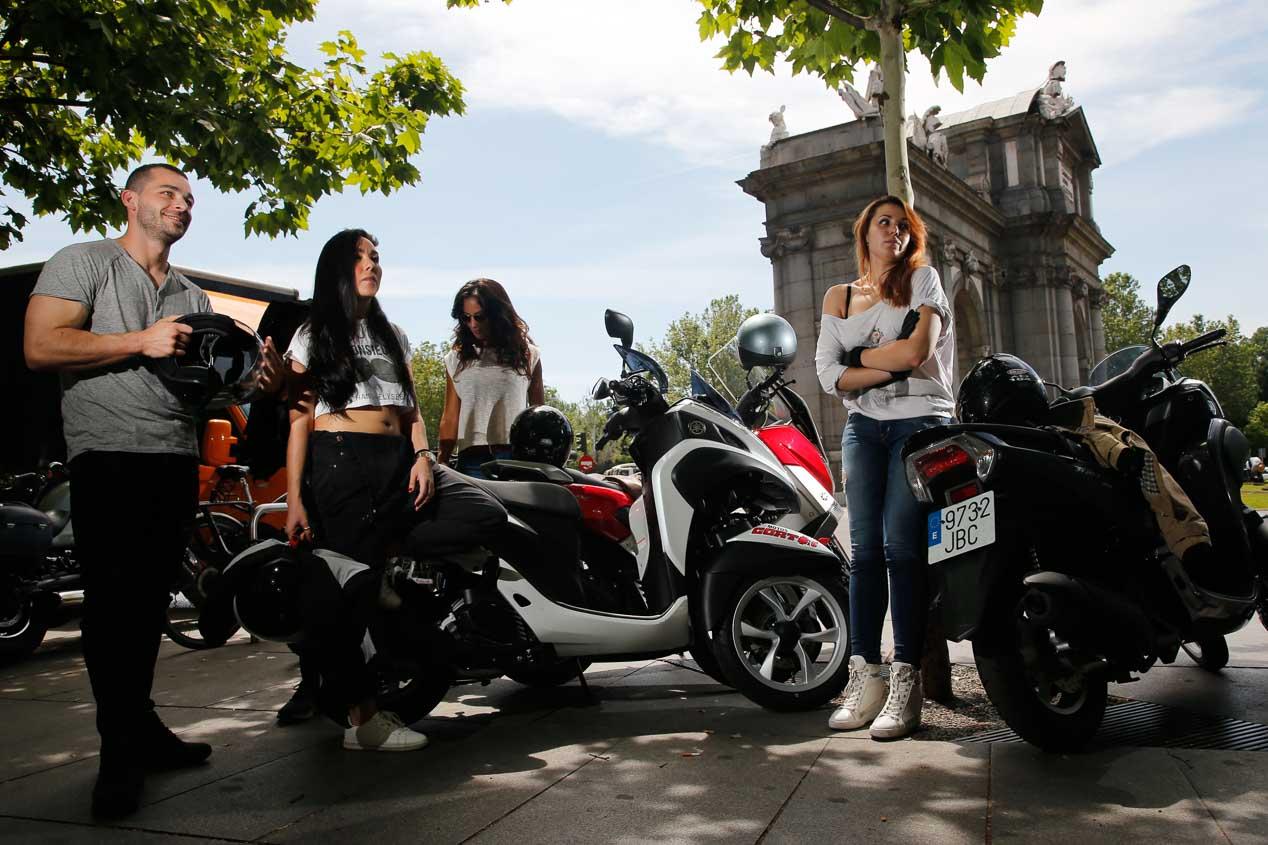 Sortea el atasco con tu carné de coche: nuevas Yamaha N-Max y Tricity