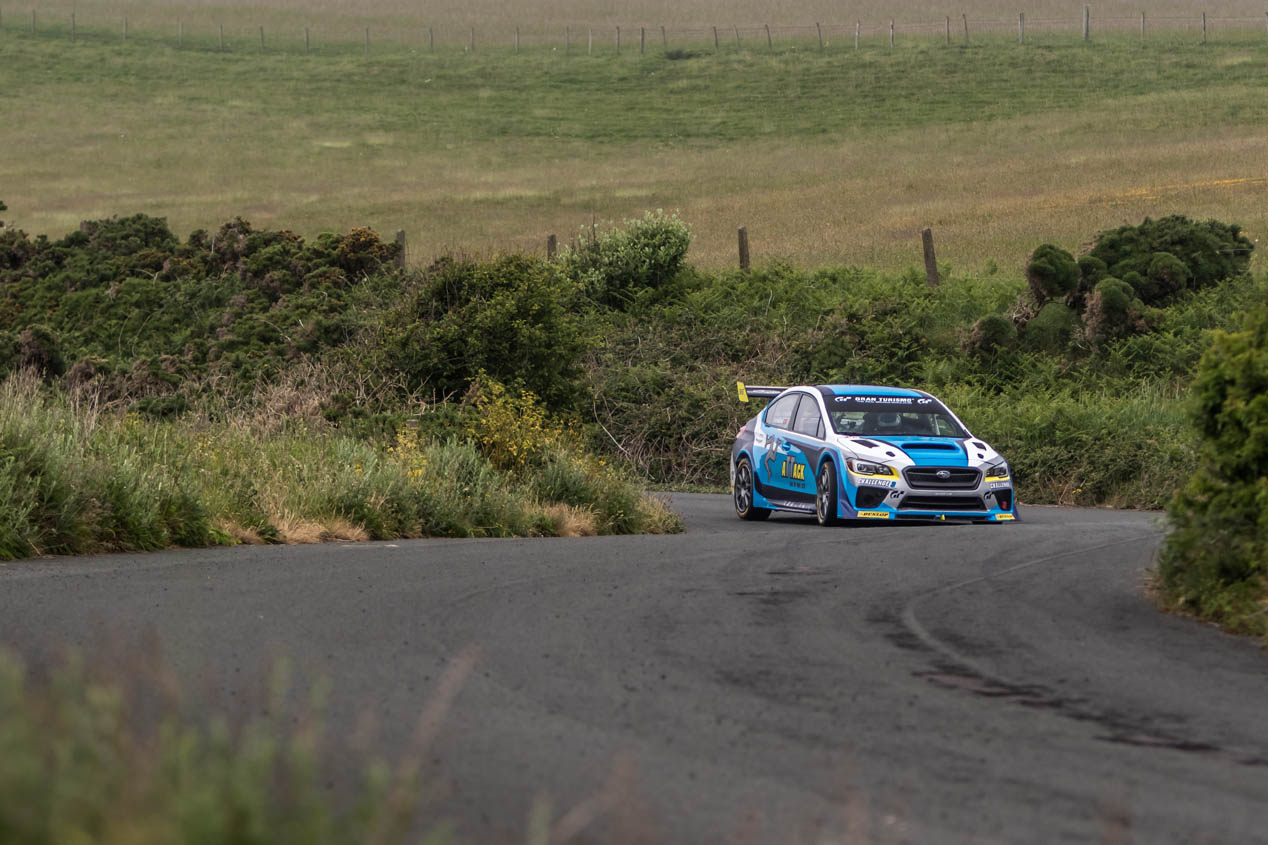 Subaru WRX STI Time Attack, récord en la Isla de Man