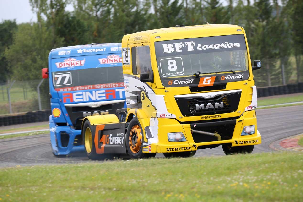 GP de Francia del Campeonato de Europa de Camiones 2016