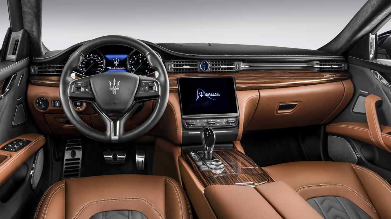 Maserati Quattroporte: la gran berlina italiana se actualiza