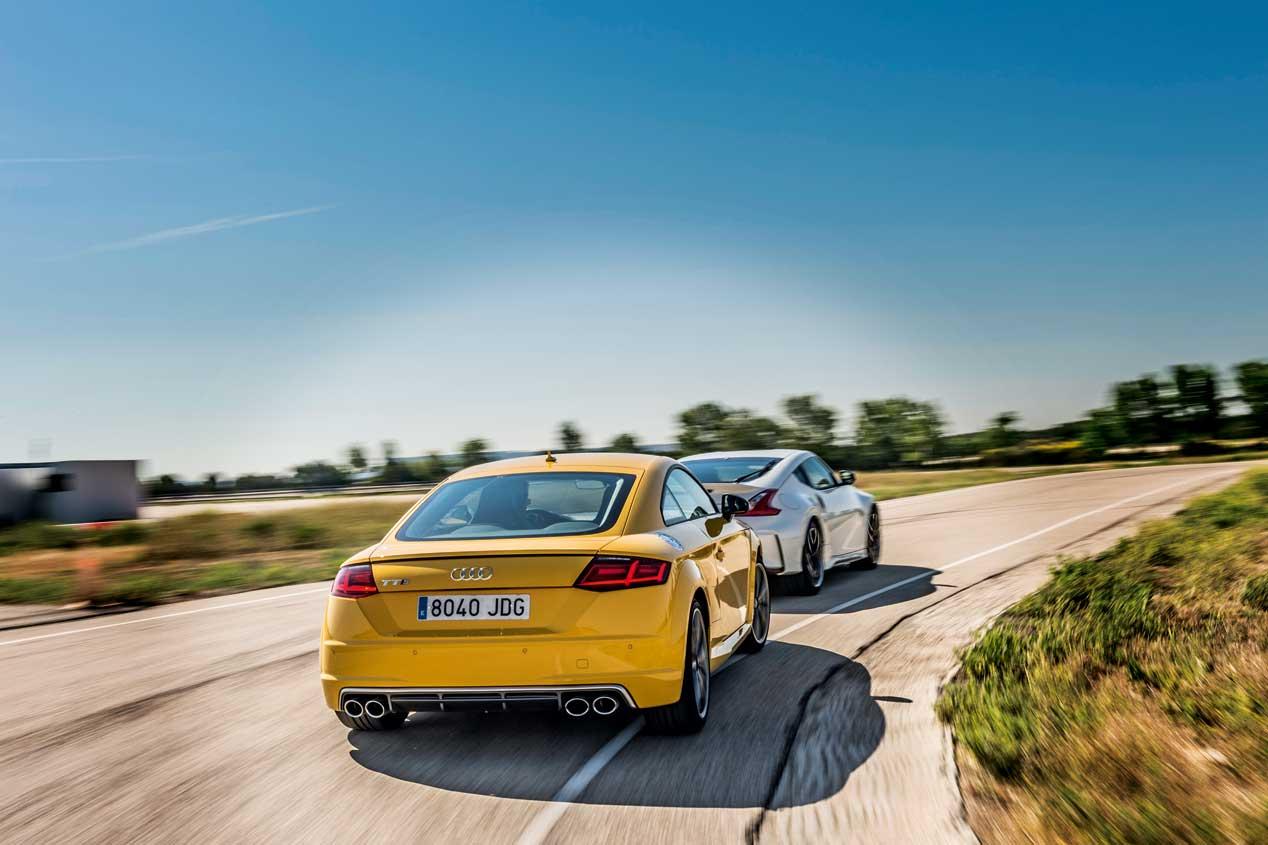 Nissan 370Z Nismo y Audi TT S, frente a frente