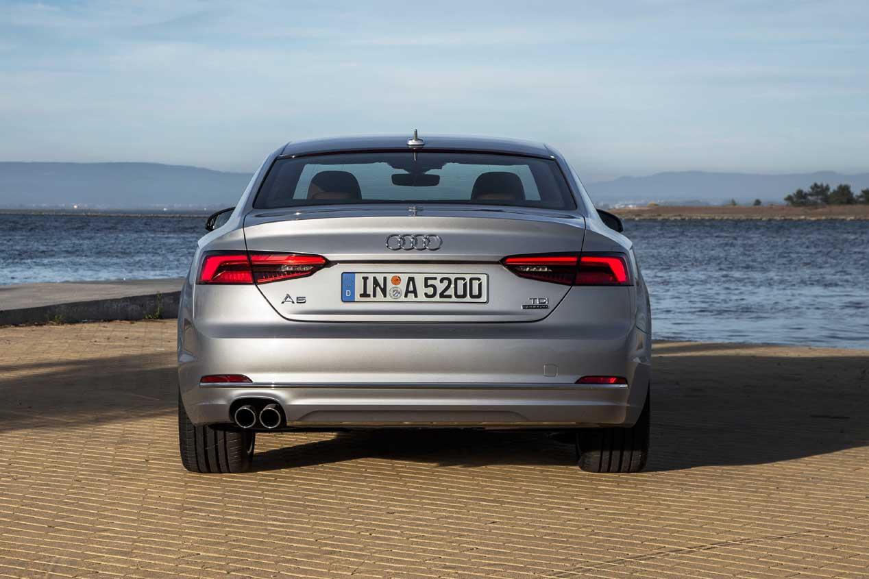Prueba de los nuevos Audi A5/S5 2016