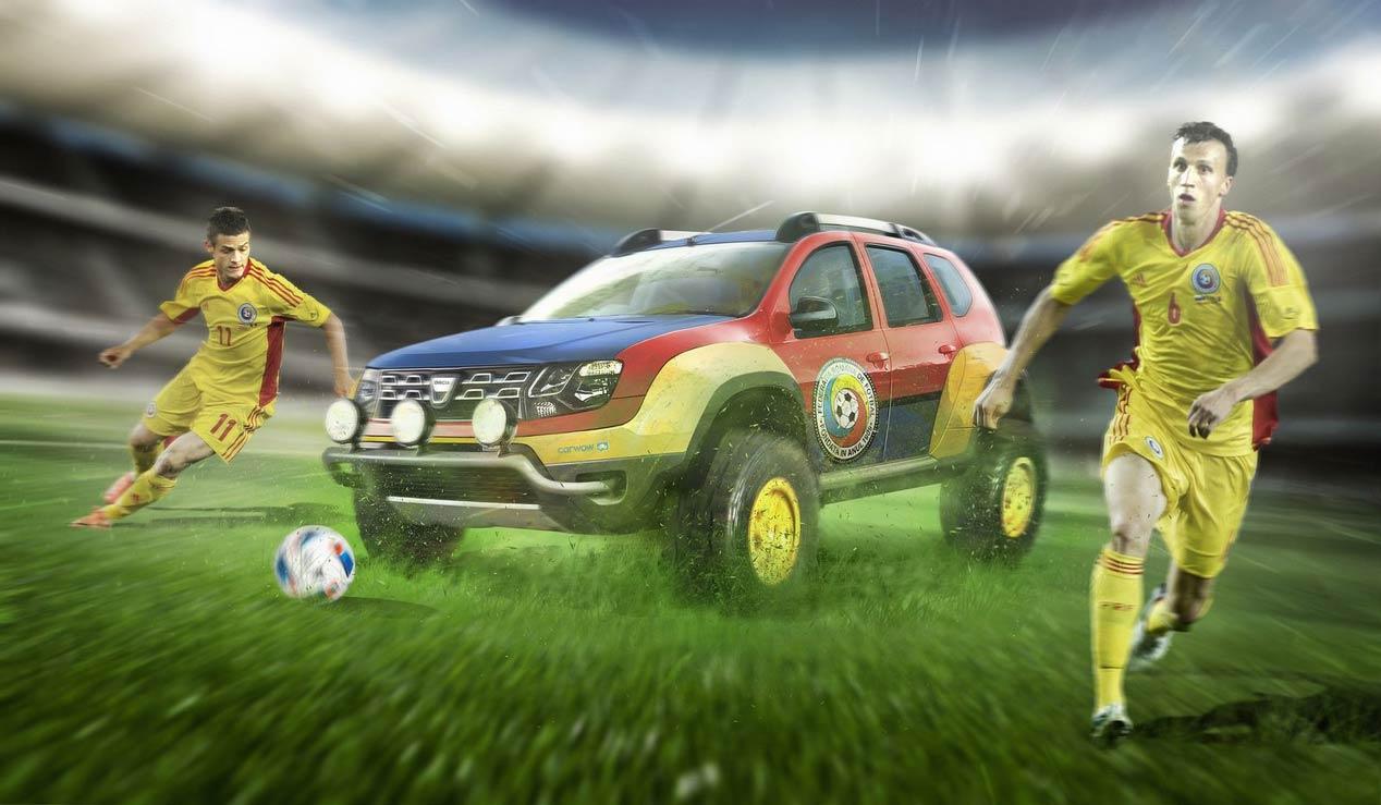 Los coches de 10 selecciones de fútbol de la Eurocopa 2016