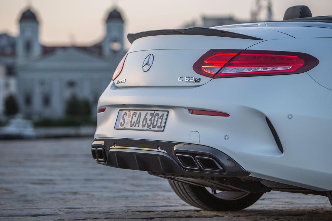 Mercedes-AMG C43 y AMG C63 Cabrio, a prueba