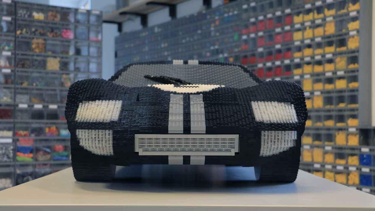El Ford GT que competirá en Le Mans hecho con piezas de Lego