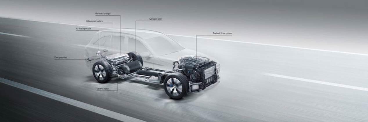 Mercedes GLC F-CELL, SUV enchufable y de pila de combustible