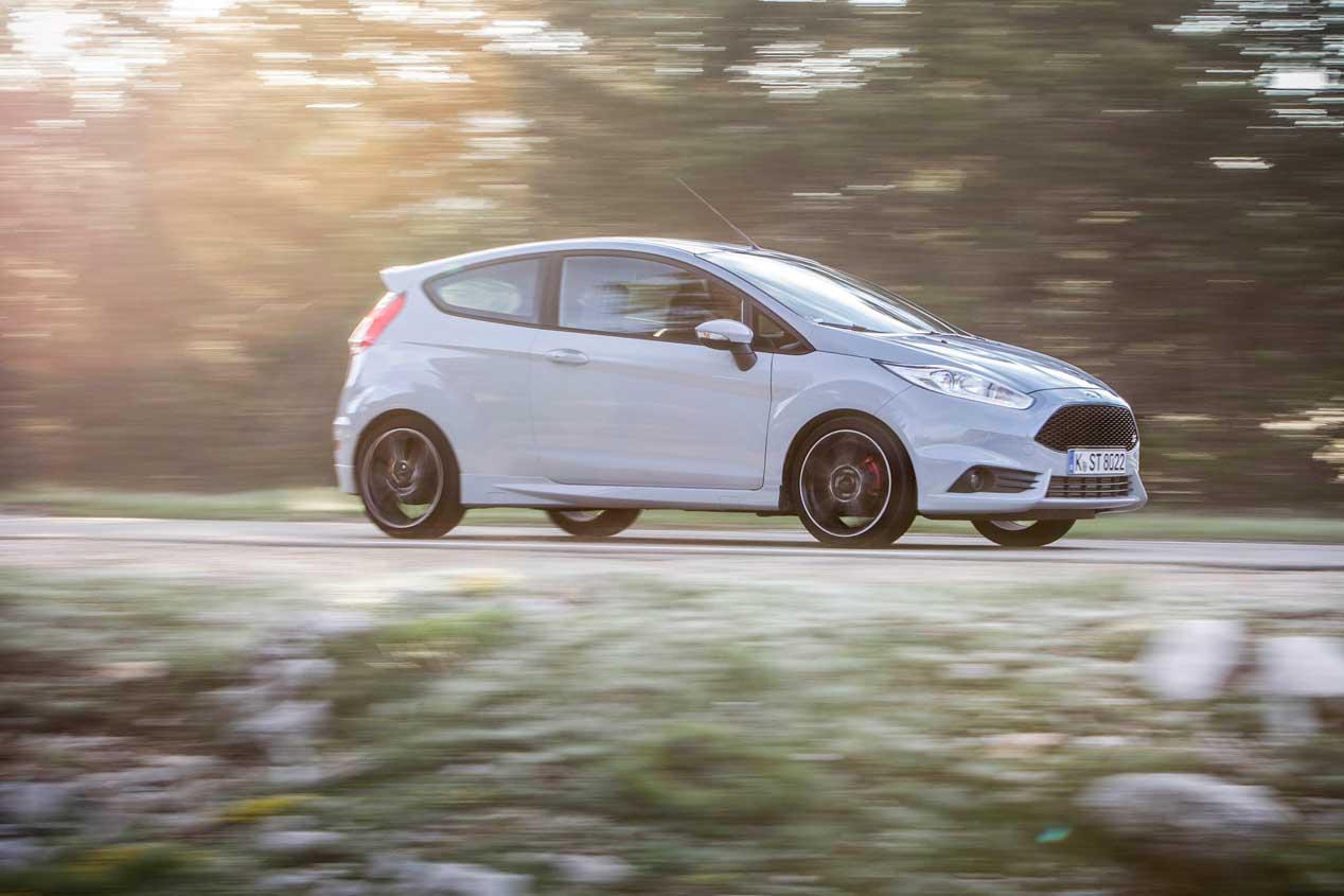 La prueba Ford Fiesta ST200, en imágenes