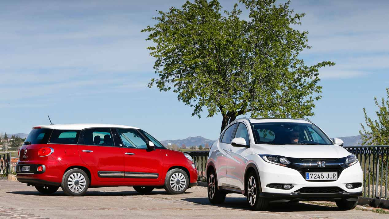 Comparativa: Honda HR-V 1.6 i-DTEC vs Fiat 500L Living 1.6 Multijet