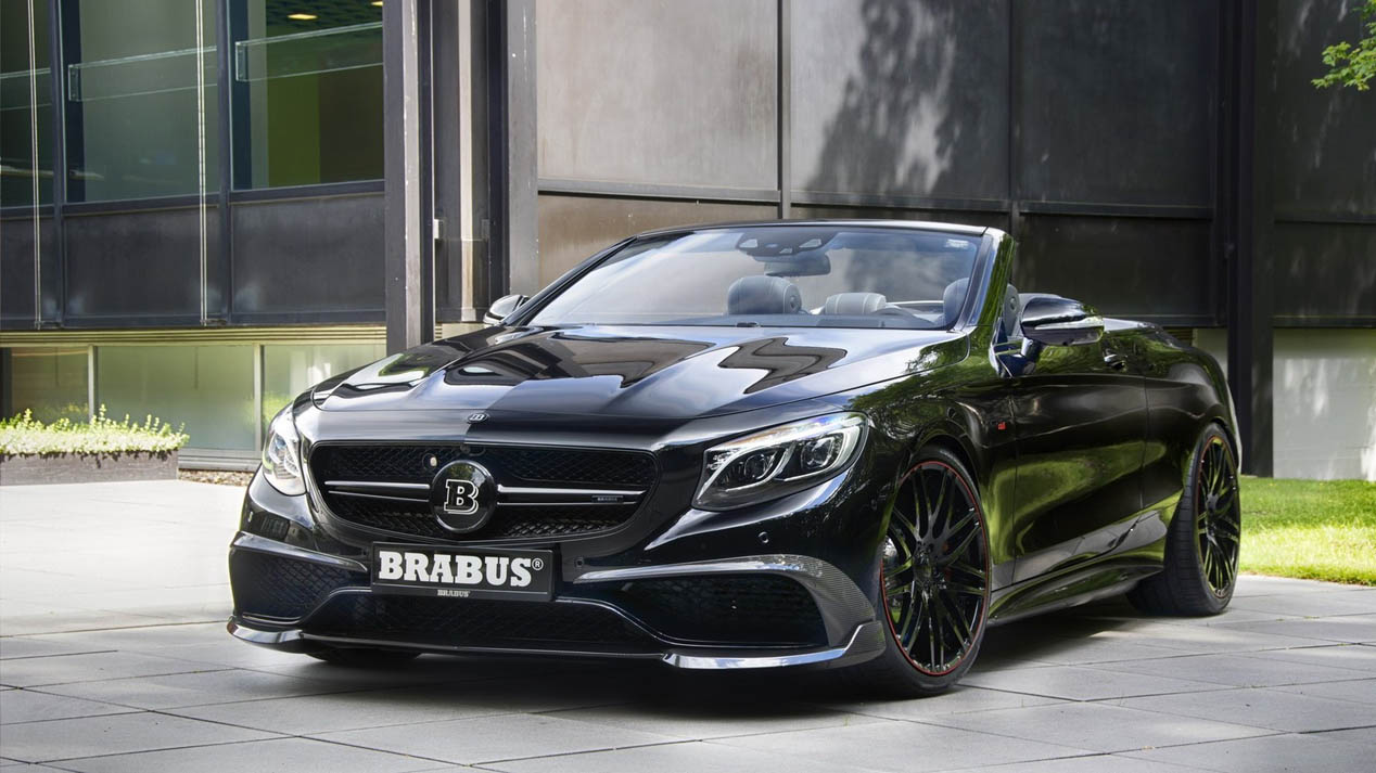 Mercedes-AMG S63 Cabriolet de Brabus