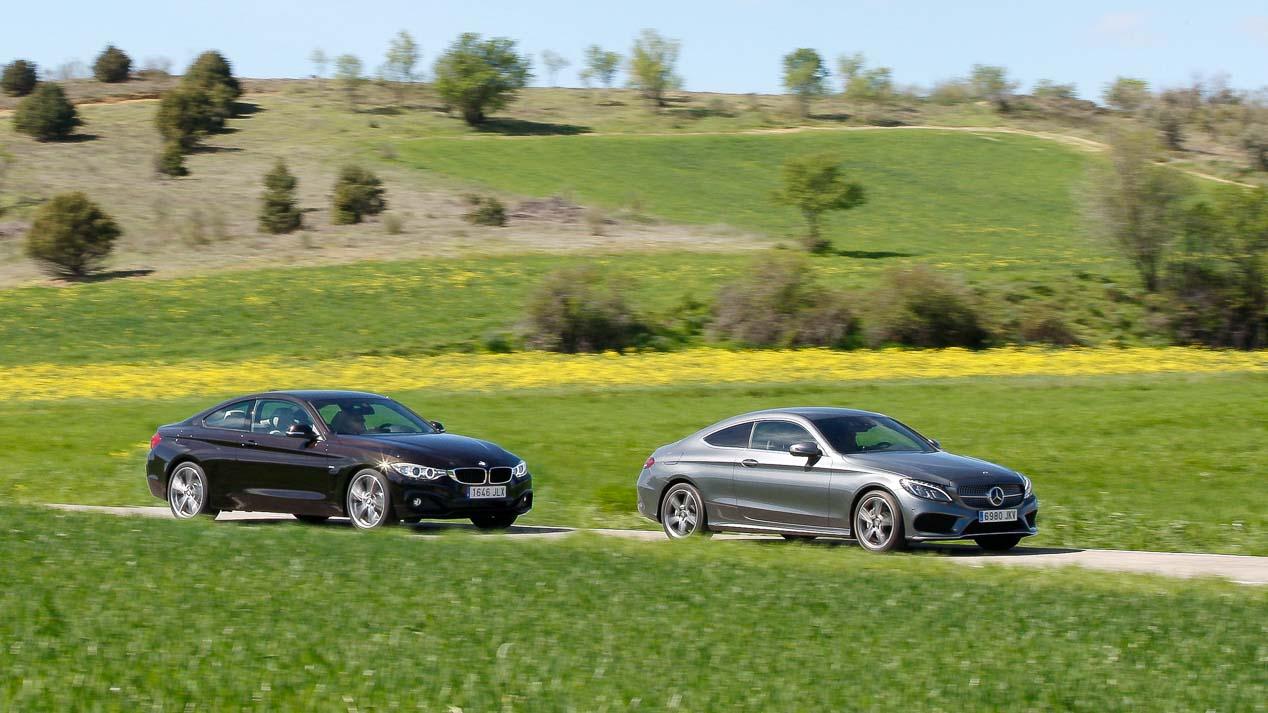 BMW 420d vs Mercedes C Coupé 220d: enfrentamiento coupé