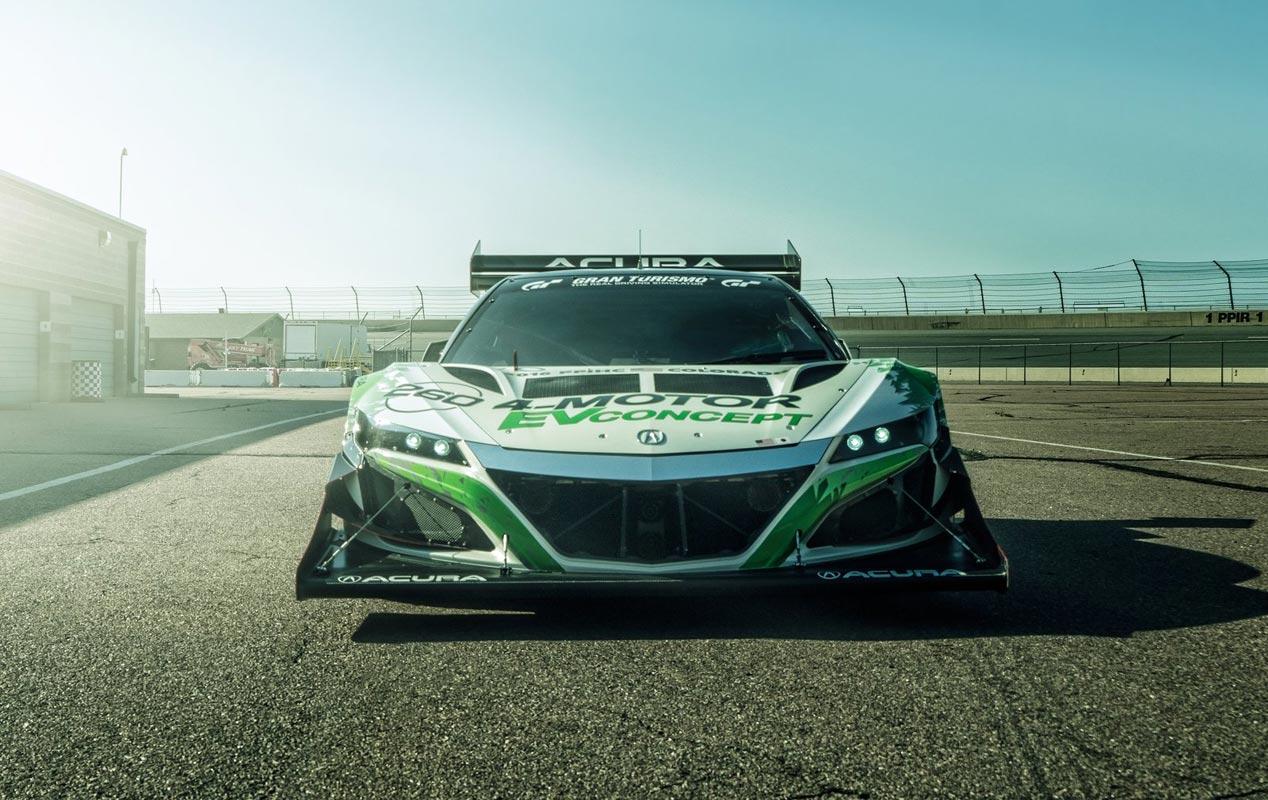 Honda NSX EV Concept, preparado para Pikes Peak 2016