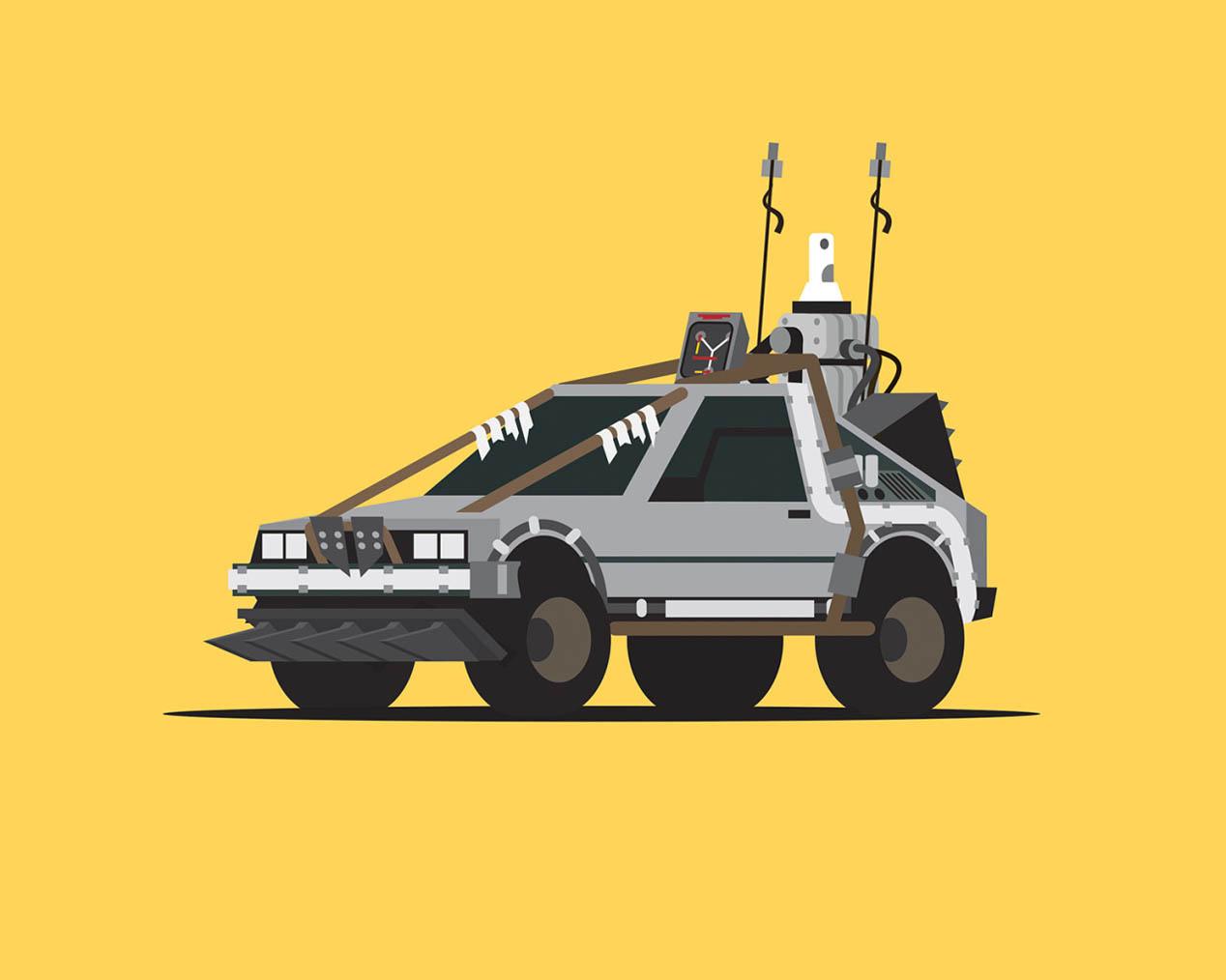 Star Car: dibujando coches míticos y de películas