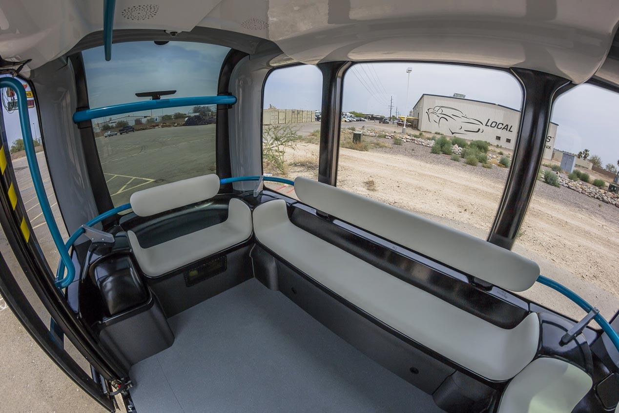 El futuro del transporte urbano se llama Olli