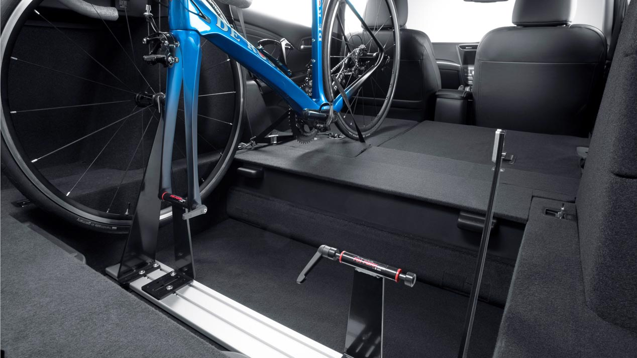 In-Car Bicycle Rack, el nuevo portabicicletas de Honda