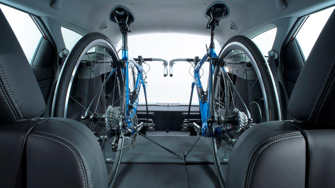 In-Car Bicycle Rack, el nuevo portabicicletas de Honda