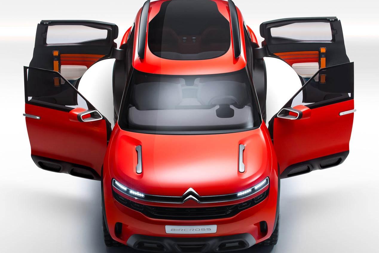 Citroën Aircross, de prototipo a realidad en 2018