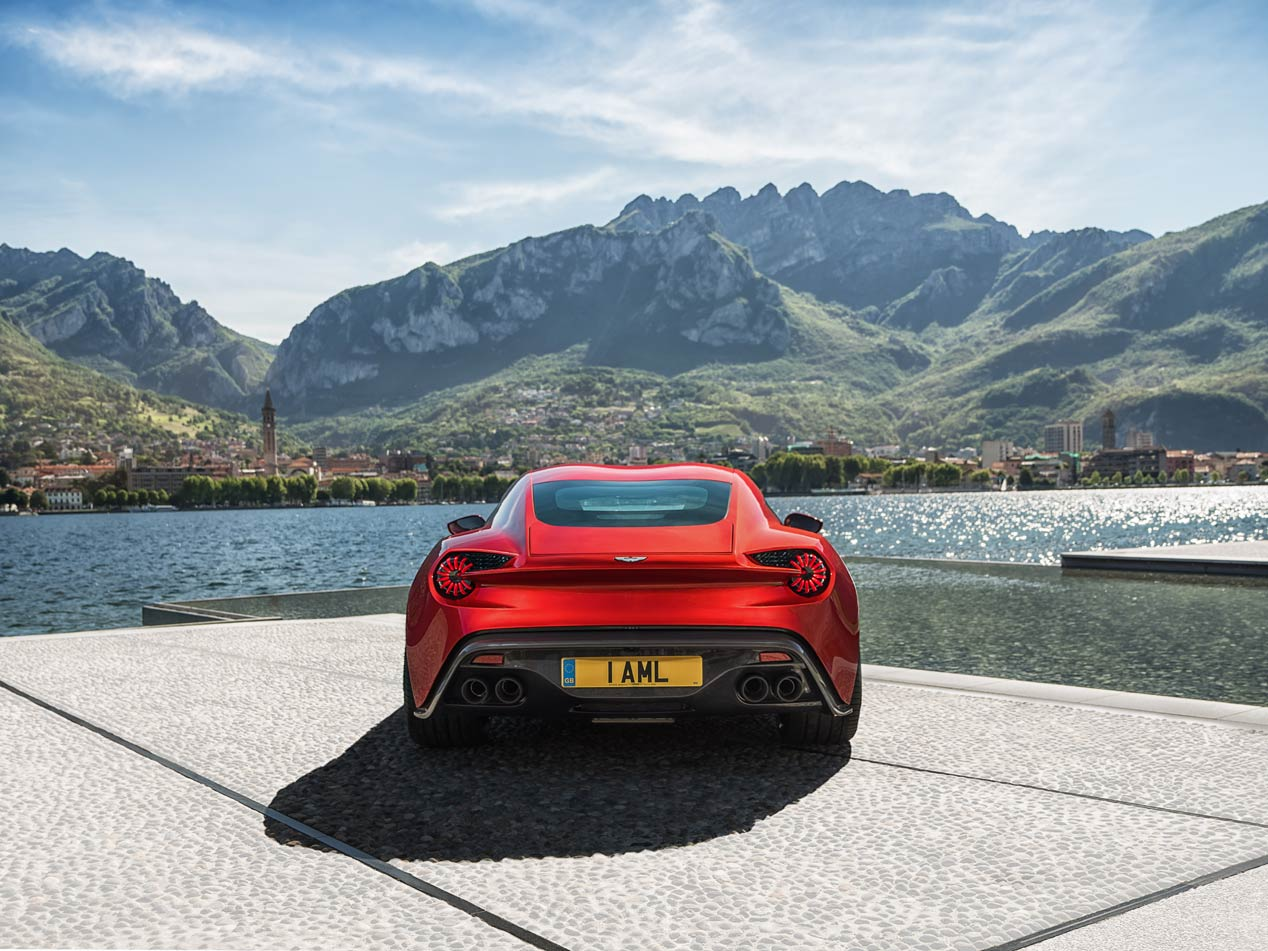 Aston Martin Vanquish Zagato, una edición limitada espectacular