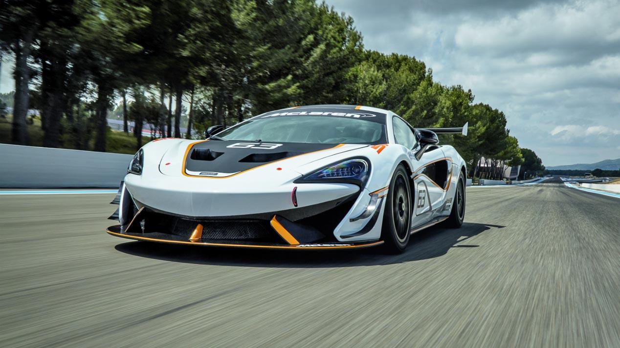 McLaren 570S Sprint, un superdeportivo de carreras