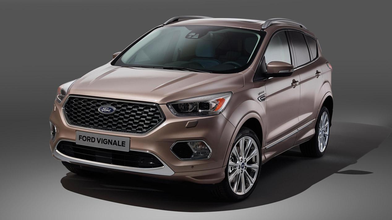 Ford Kuga Vignale. Así es el coche de producción