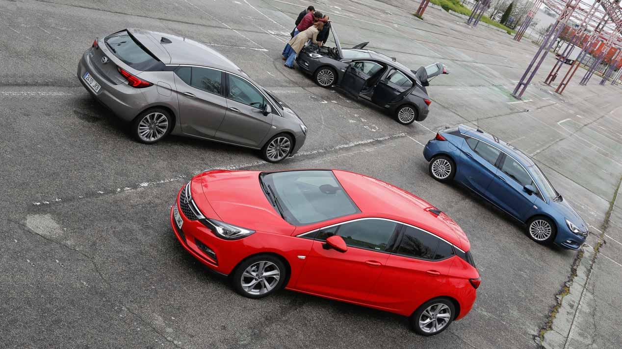 Gama Opel Astra, prestaciones y consumos
