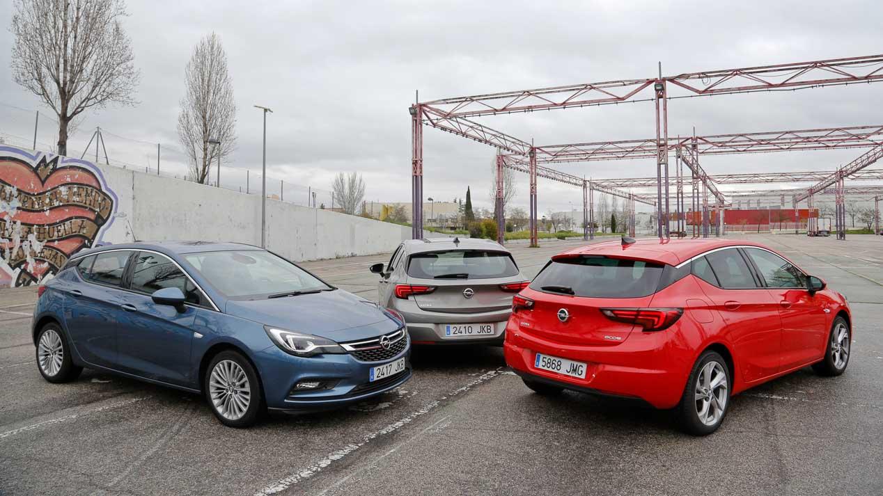 Gama Opel Astra