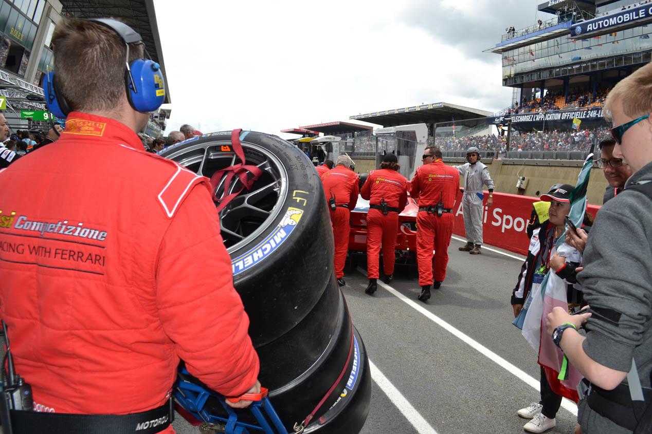 Las 24 Horas de Le Mans 2016 desde dentro