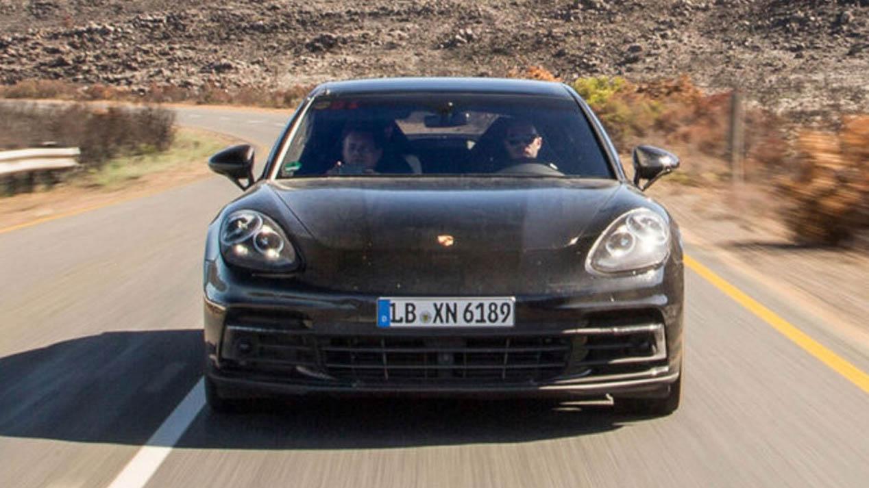 Porsche Panamera 2017: primeras fotos