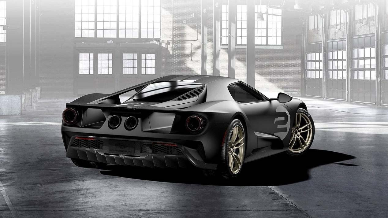 Ford GT 66 Heritage Edition, homenaje a LeMans