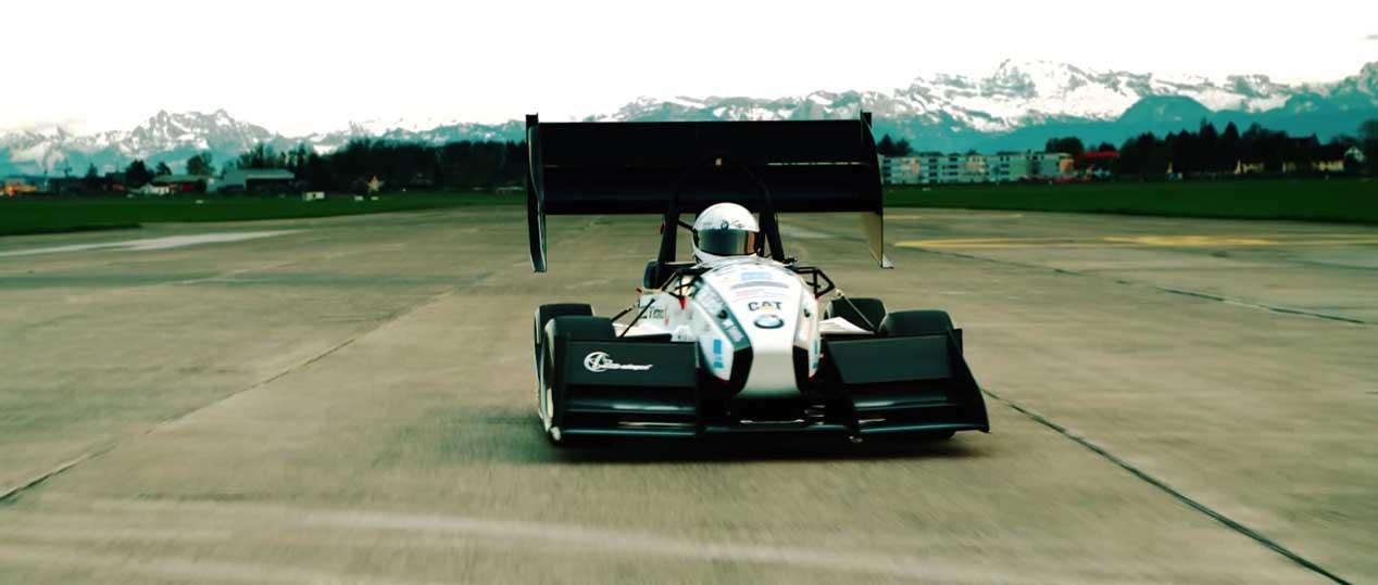 Grimsel, el coche eléctrico más rápido en acelerar