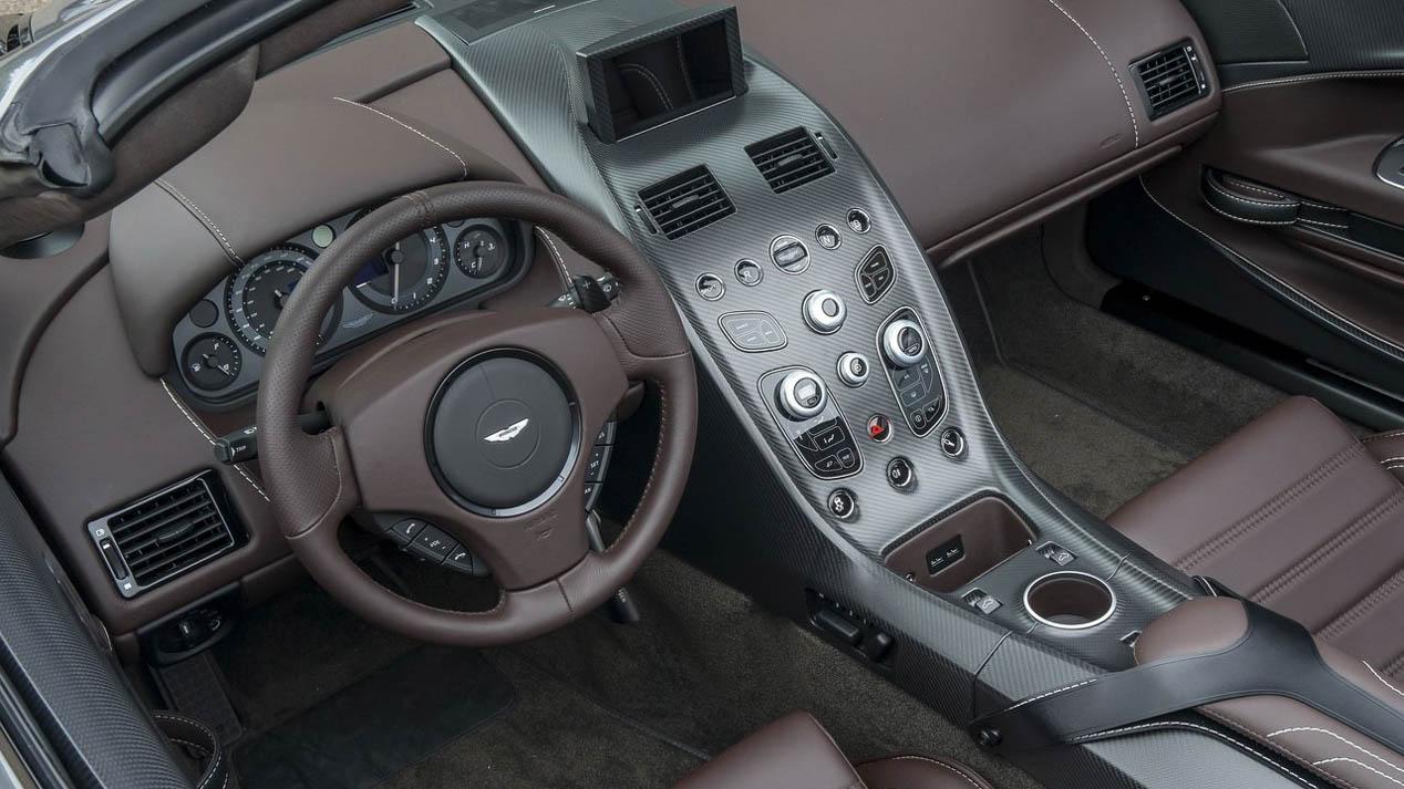 Aston Martin Vantage GT12 Roadster: el último súper deportivo
