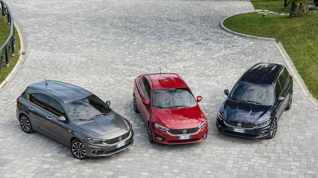 Fiat Tipo 5 puertas: gama y precios