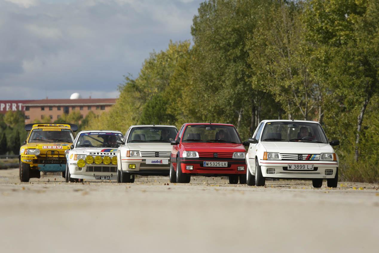 Coches para el recuerdo: Peugeot 205 T16   Coches Clásicos ...