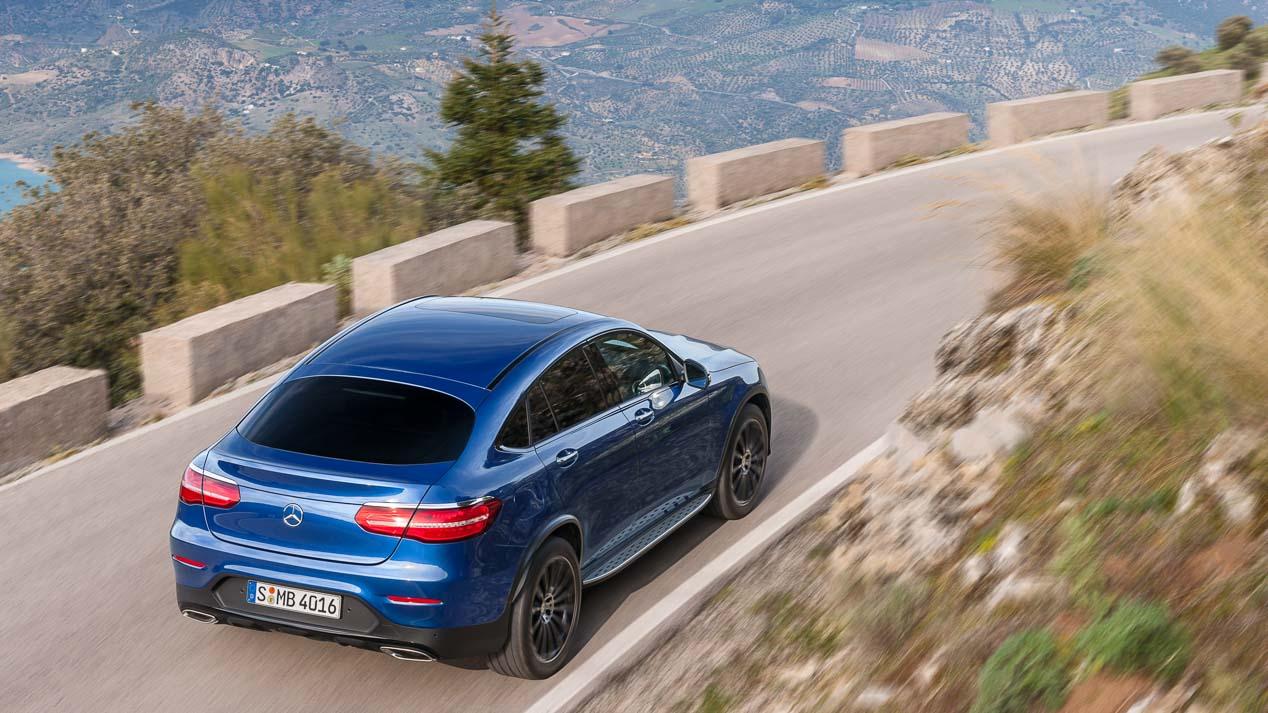 Mercedes GLC Coupe, ya tiene precios en España
