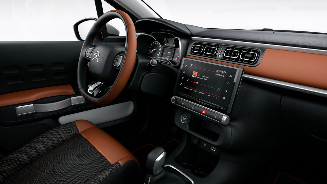 Interior Citroën C3