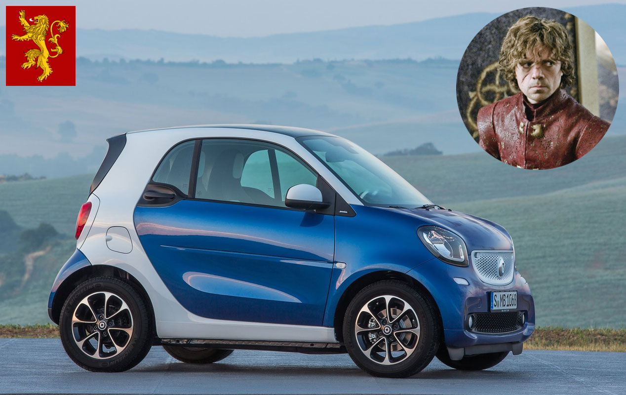 Tyrion Lannister: Smart Fortwo