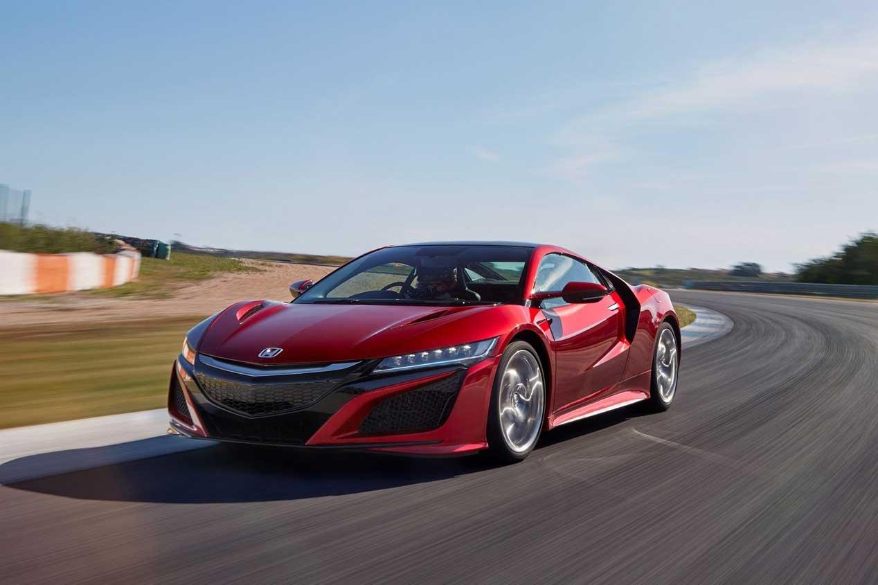 Honda NSX 2017: las mejores fotos del gran deportivo nipón