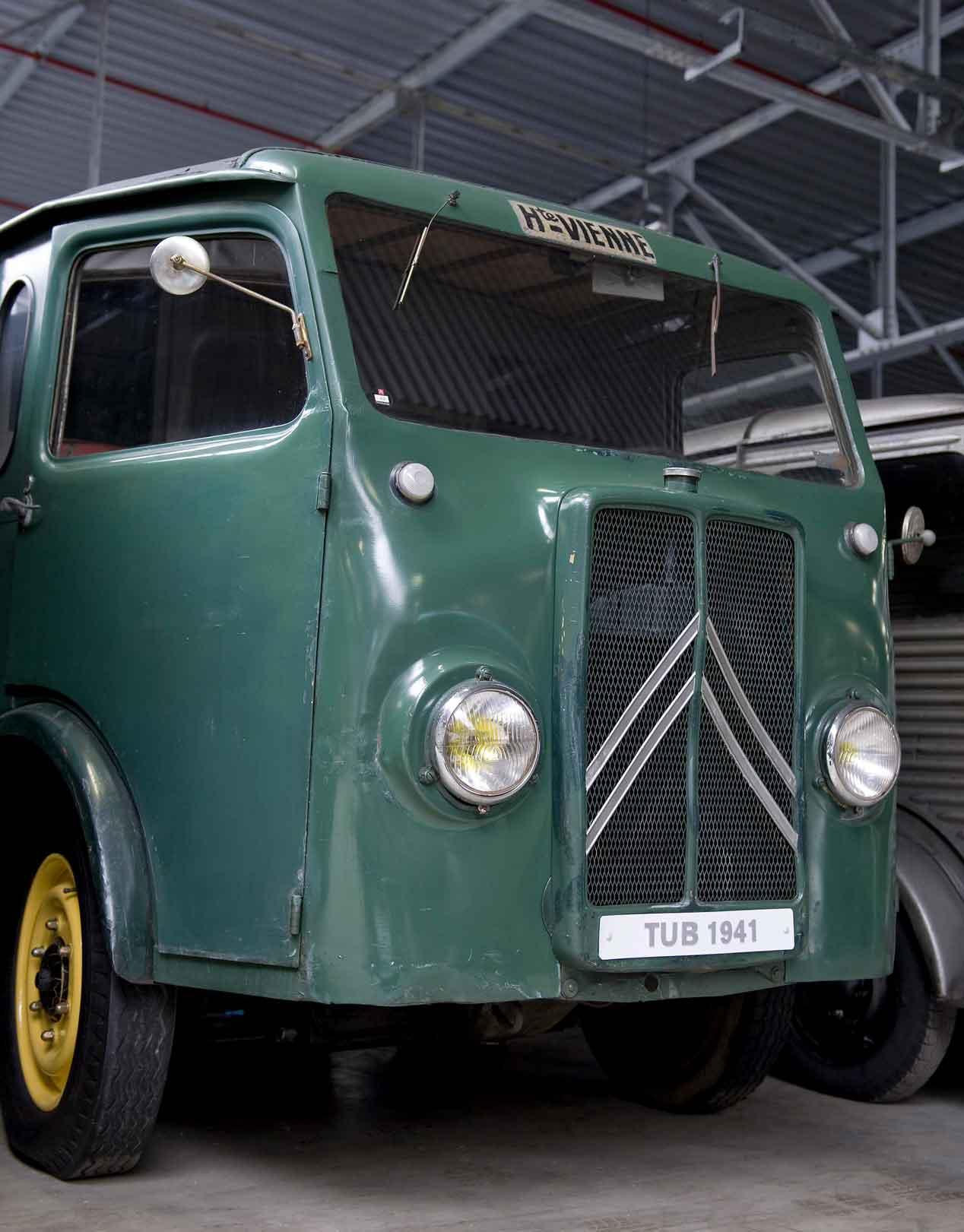 Los orígenes de los 'food-trucks': Citroën H