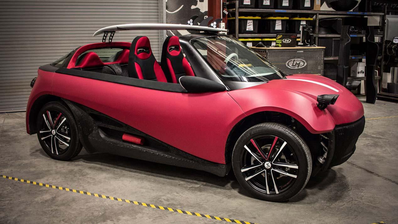 Swim, el primer coche fabricado por una impresora 3D