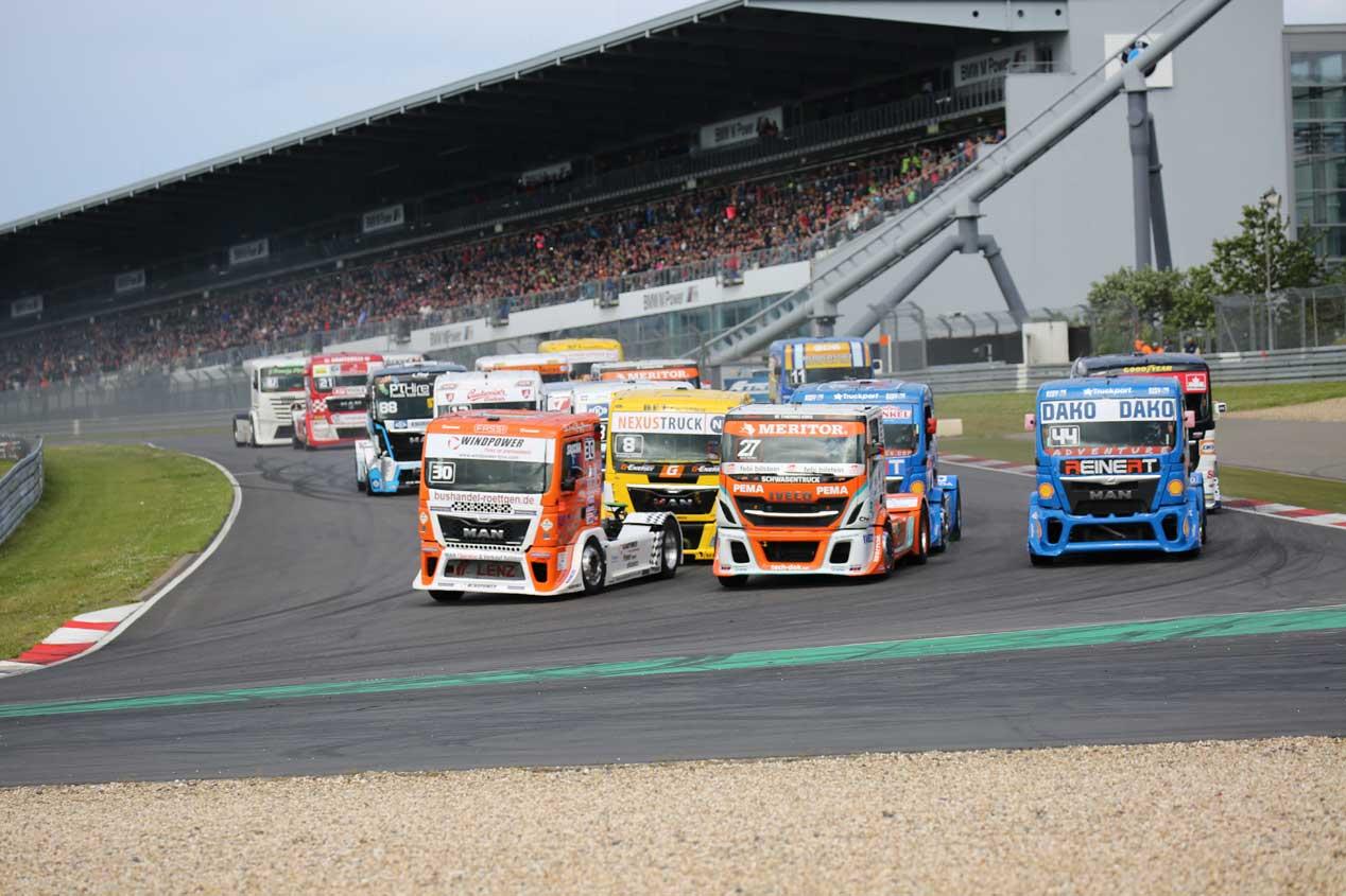 Campeonato de Europa de Camiones 2016. GP de Alemania