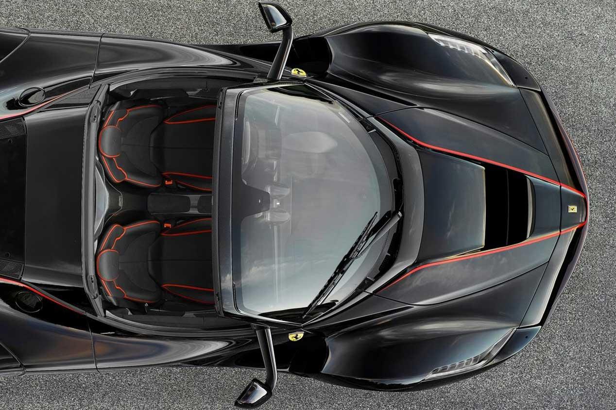 Ferrari LaFerrari Aperta: primeras fotos del LaFerrari descapotable