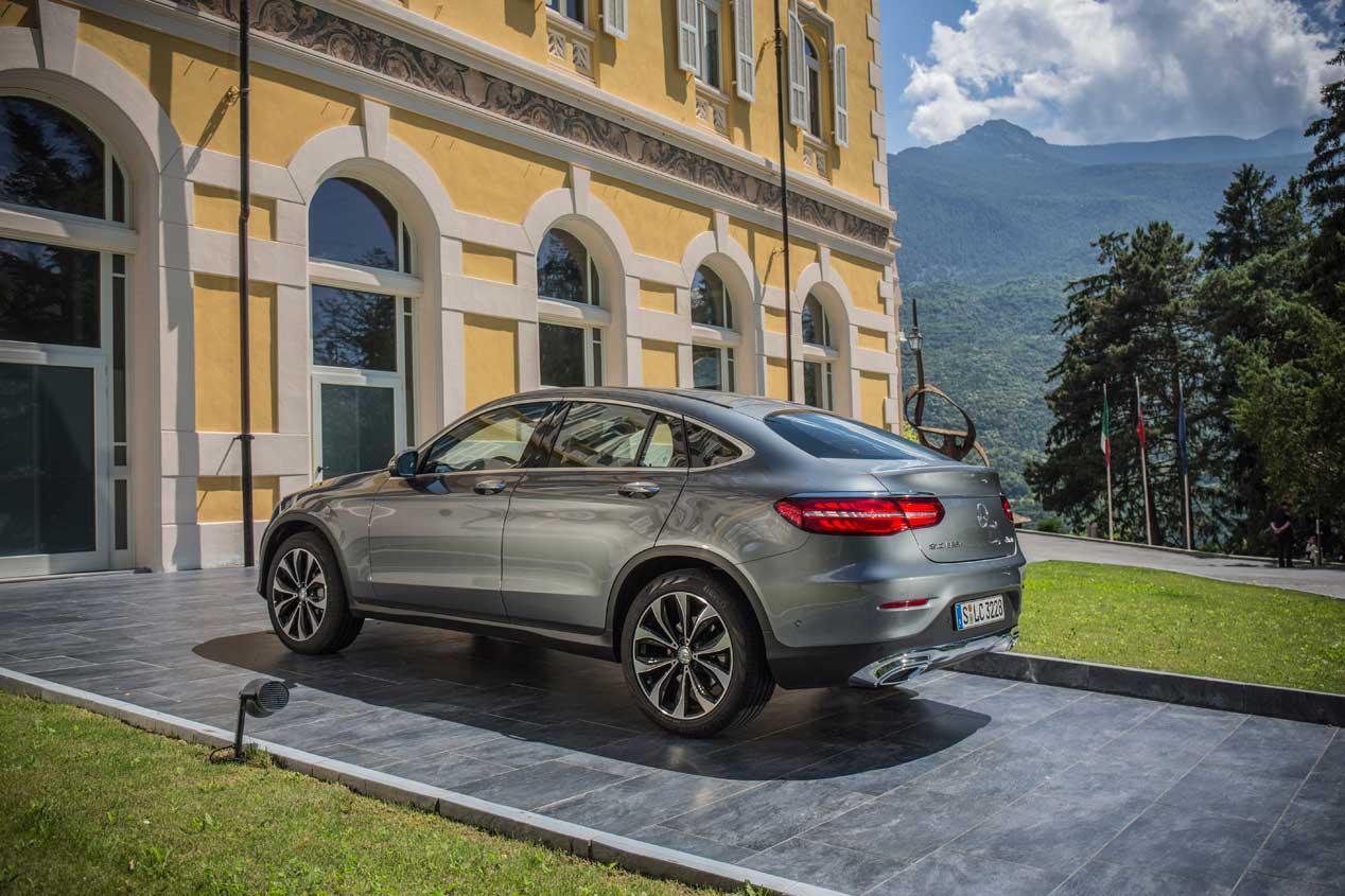 Mercedes GLC Coupé: imágenes de un SUV con estilo