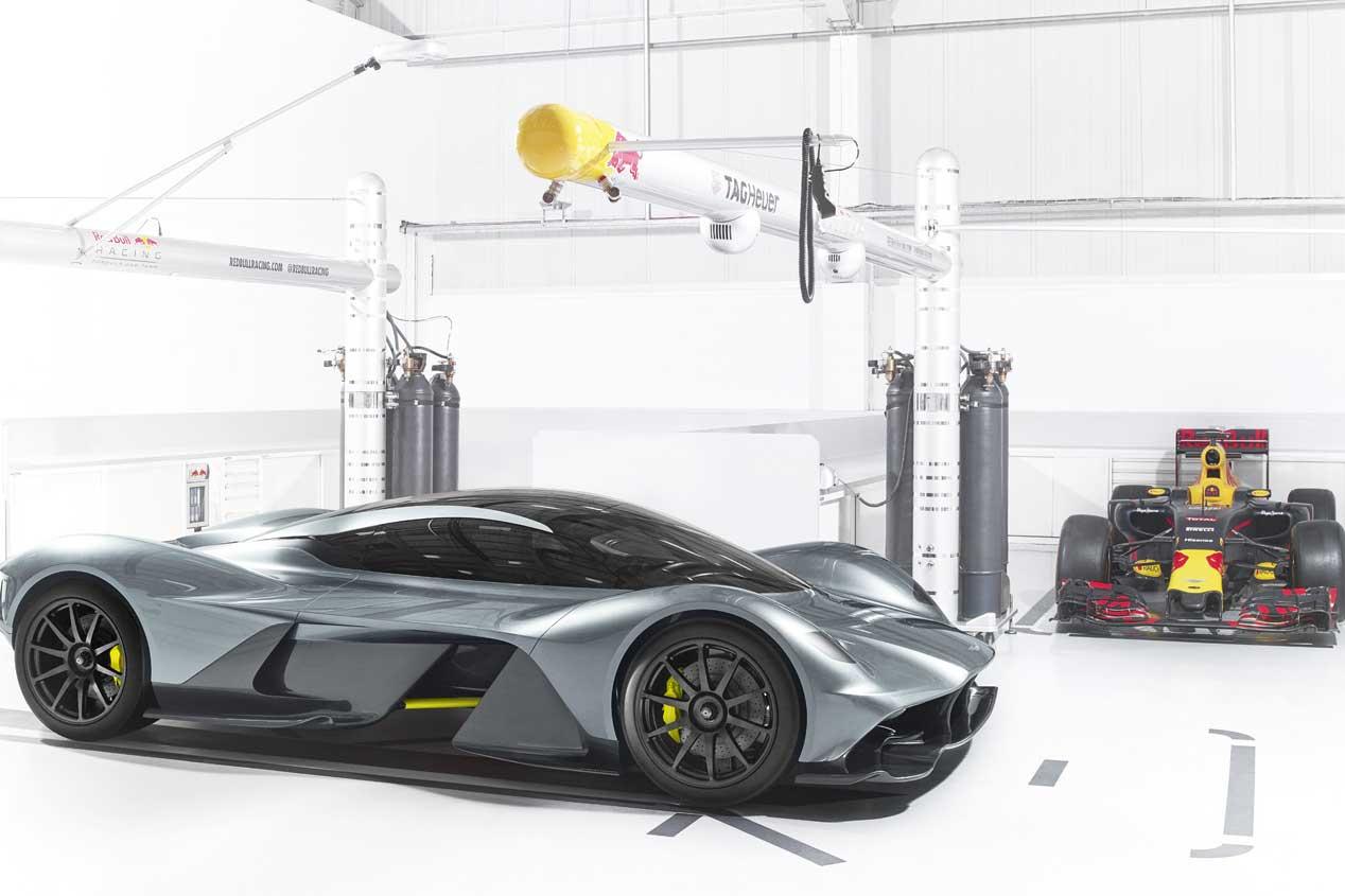AM-RB 001: las fotos del superdeportivo de Aston Martin y Red Bull