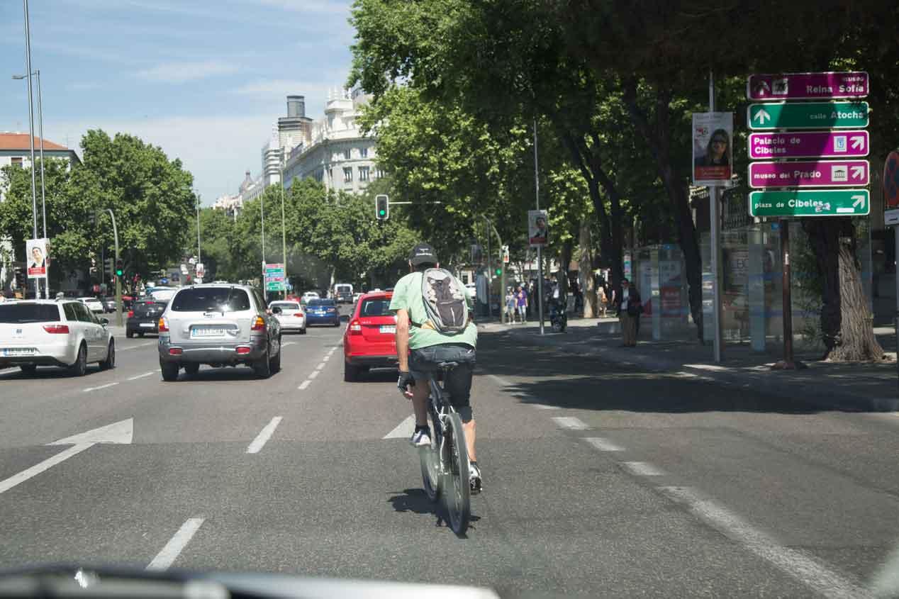 El coche autónomo de Google ha incorporado un sistema de reconocimiento de ciclistas