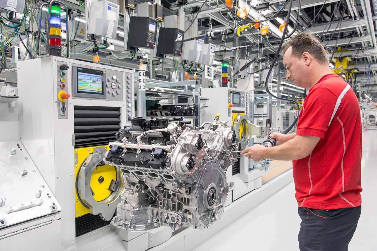 Porsche fabricará todos sus motores V8... y de todo Volkswagen