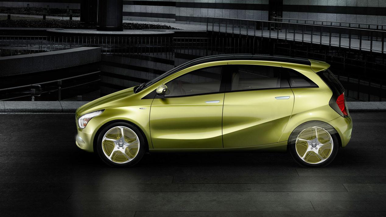 Mercedes planta cara a Tesla con el coche eléctrico